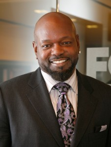 Emmitt Smith Visits FOX Business