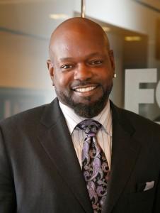 Emmitt Smith Visits FOX Business